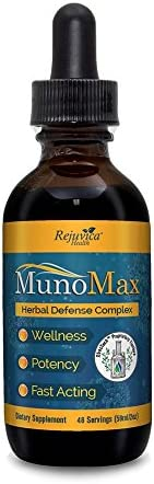 MunoMax – Real Immune Support – All-Natural Liquid Formula for 2X Absorption – Elderberry, Echinacea, Turmeric and More