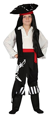 YOU LOOK UGLY TODAY Boy's Classic Pirate Halloween Party Dress-up Costume Cosplay - (Pirate Party Costume)