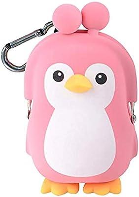 p+g design 3D Pochi Amigos pingüino Silicona Monedero ...