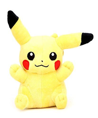 Pokemon Pikachu Plush, Yellow  10 inch