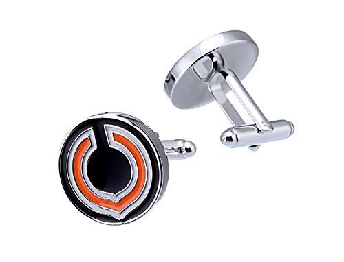 Promotioneer Mens Rugby The Team Logo Symbol Series Cufflinks with Gift Box