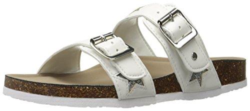Madden Girl Women Brando-u Flip Flop White/Silver