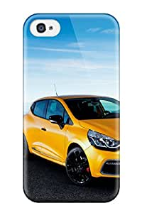 Excellent Iphone 4/4s Case Tpu Cover Back Skin Protector Renault Clio