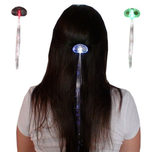 GGI LED Fiber Optic Light-up Hair Barrette