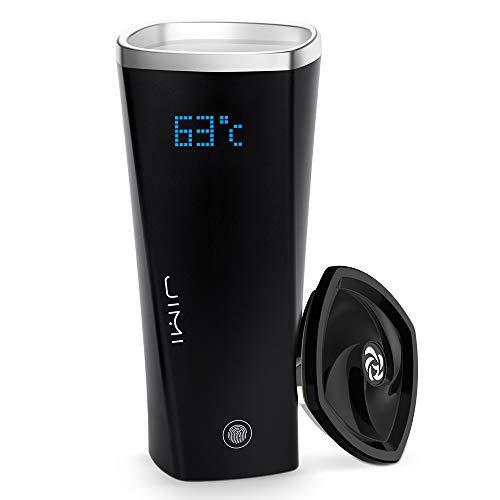 SmartShow Cups Smart Mug Smart Temperature Adjustable & Preservable Mug I-Touch Plus(Black)