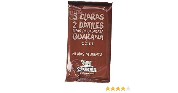 Barrita Energética Paleo 100% natural - Alta en proteínas - Café y Guaraná (55g)