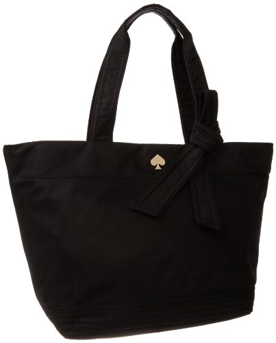 kate spade new york Flatiron Nylon-Barbara Shoulder Bag,Black,One Size