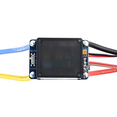 Favrison OCDAY 2-3 Lipo/6-9 NiMH 480A Dual Mode Brush Speed Controller ESC Regulator With Cooling Fan For 1/10 RC Car by Favrison (Image #5)