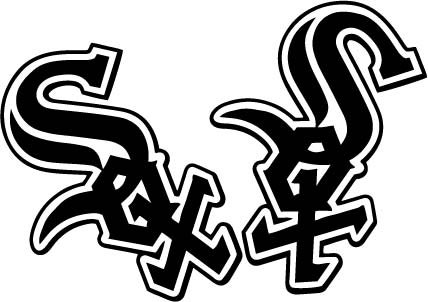 """Chicago White Sox Team Logo Decal Set of 2 - Laptop Skin Vinyl Decal Sticker for MacBook Pro 13"""" – and Other Apple Laptop – Car and Windows – Size 4 x 4 inches ()"""