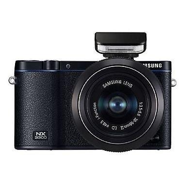 Samsung EV-NX3300BEB Interchangable Lens Camera with 20-50mm, 50-200mm Lens