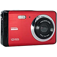 Digital Camera with 8x Digital Zoom and Anti Shake, Vmotal 12 MP 3.0 inch TFT LCD Screen Mini Digital Camera