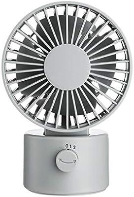 CAOQAO - Mini Ventilador USB Ajustable, Ventilador portátil ...