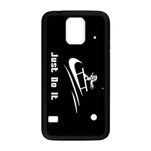 just Do It Funny Sailing Pattern Image Case Cover Hard Plastic Case for Samsung Galaxy S5 i9600 Regular