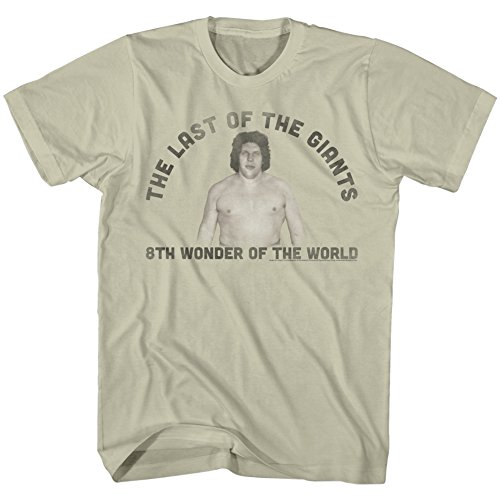 American Classics Andre The Giant WWE Eighth Wonder Of The World Last One Adult T-Shirt Tee 3X by American Classics