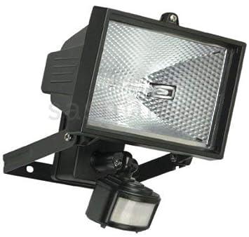 150W Foco halógeno Luz de seguridad PIR Sensor de movimiento)