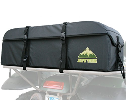 Cover Atv Kwik Tek - ATV Tek ASEBLK Black Hunting and Fishing Expedition Cargo Bag
