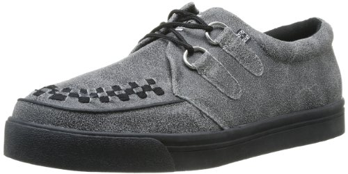 T.U.K.2 Ring Rocker - Tacones con punta redonda Unisex adulto , negro (Noir (Black/Grey Acid Wash/Black)), 46 Grey
