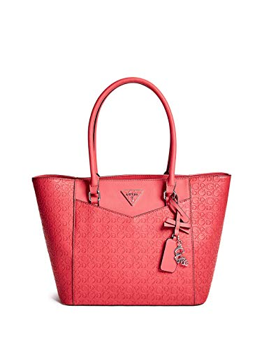 GUESS Factory Womens Desire Logo-Embossed Carryall
