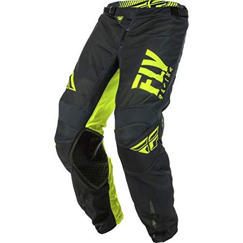 Mesh Pants Kinetic - Fly Racing 2019.5 Kinetic Mesh Pants - Shield (28 Short) (Grey/Hi-Viz)