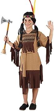 DISBACANAL Disfraz de India para niña - -, 6 años: Amazon.es ...