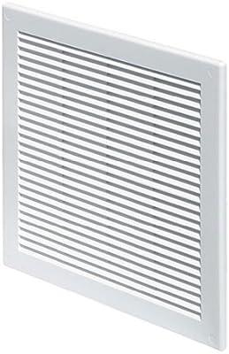 Rejilla de ventilaci/ón color blanco Awenta 250 x 250 mm