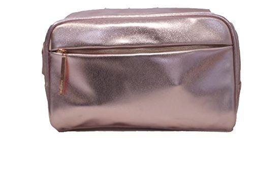 Lancôme Rose-Gold Signature Cosmetic Travel Bag