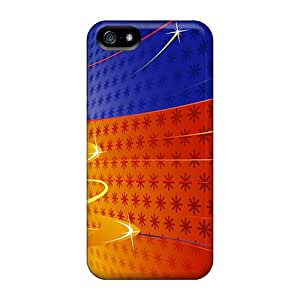 RobertWood NZf32201mBZF Cases Covers Iphone 5/5s Protective Cases Christmas Abstract Hd