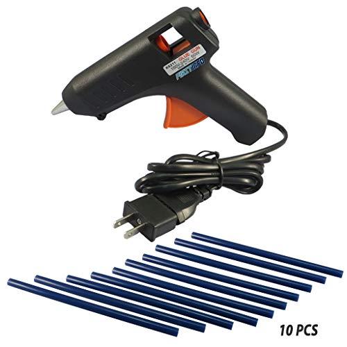 FIRSTINFO 60W Hot Glue Gun Pro Glue Sticks Auto Metal Dent Puller Repair -