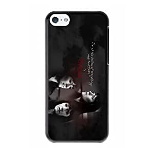 Emily Prentiss B5R5XW1H Caso funda iPhone 5c Caso funda del teléfono celular Negro