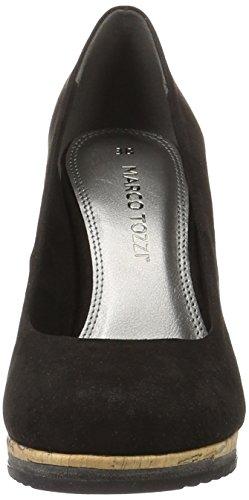 Marco Noir 001 Black Tozzi Femme Escarpins 22403 qHWOwaqUB