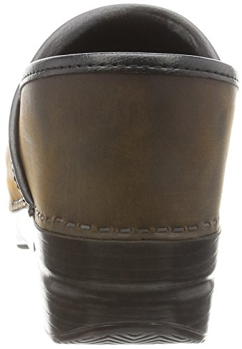 Cabrio Black Brown Leather Clog Antique Leather Women's Oiled Professional Pro Dansko S4gHgx