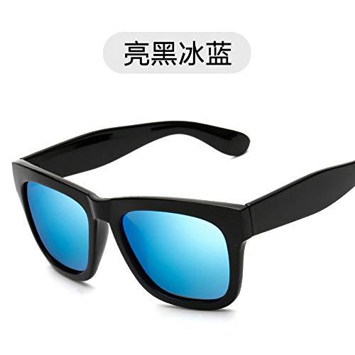 Polvo de Gafas de de black polarizadas de de Bright Modernas Negro cuadradas Burenqiq blue Retro los Sol Gafas ice Sol Hombres Oro Brillante Sol Gafas polarizadas Gafas Rosa zqw5HU7fn