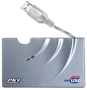 PNY USB Multi Slot Digital Card Reader (PALFMTUSB2P)