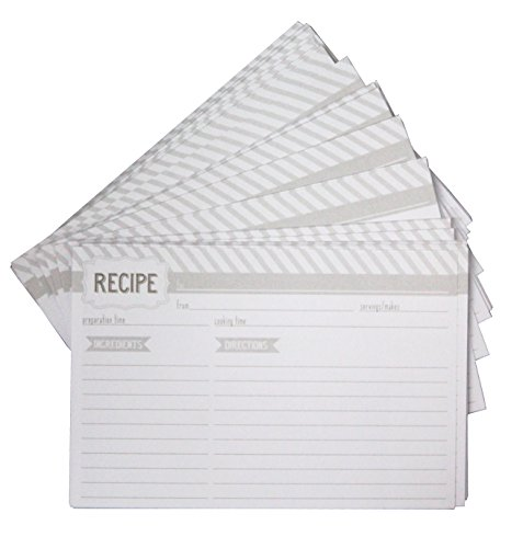 Eccolo Recipe Keeper Refill 100 Pack