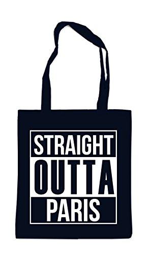 Straight Outta Paris Bag Black