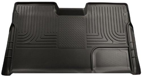 (Husky Liner 19331 Black Custom Molded Rear Cargo Liner for Ford F-150 SuperCrew by Husky Liners )