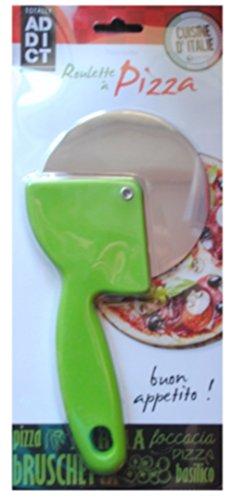 Easy Make CMKD3136 CORTADOR Pizza D.9,5 cm INOX, roestvrij metaal, meerkleurig, één maat