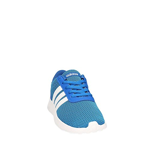 adidas Unisex-Kinder Lite Racer K Turnschuhe, Blau (Azul/Ftwbla/Azusol), 36 EU