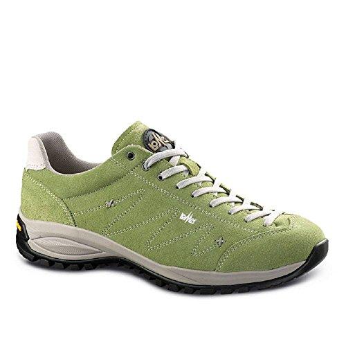 Para Lomer Piel Mujer Zapatillas De Verde a11rtUp