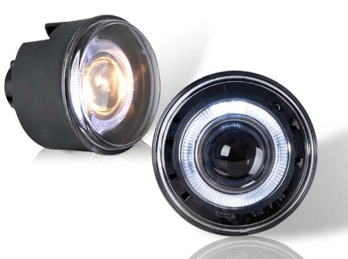 05 Projector Fog Lights - Jeep Grand Cherokee Chrysler 300 05 - 10 Halo Projector Fog Light Left Right Set