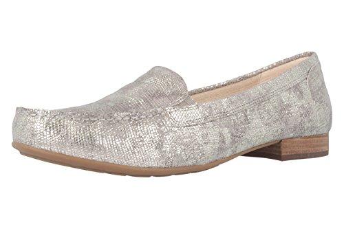 GABOR comfort - Mocassini - argento scarpe, in più misure