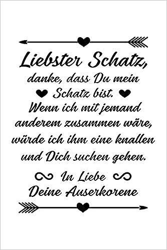 Jahrestag.Danke Liebster Schatz Notizbuch Fur Ehemann Freund Verlobter Ehe