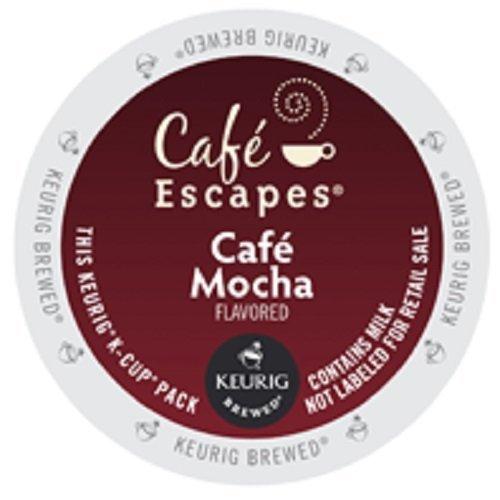 KEURIG Café Escapes Keurig K Cups, Mocha, K-Cup packs, 48...