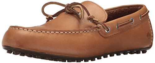 SPERRY Men's Hamilton II 1-Eye Loafer, Tan, 11 (Sperrys Loafers Men)