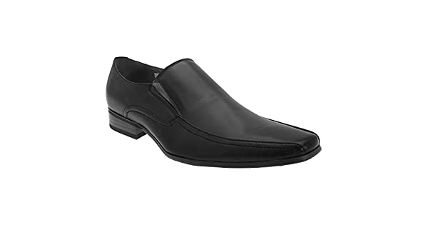 Amazon.com | Route 21 Mens Twin Gusset Tramline Fashion Shoes | Loafers & Slip-Ons