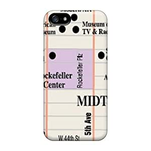 High Quality LdGPIZK1776ALkXM Ny Midtown Map Tpu Case For Iphone 5/5s