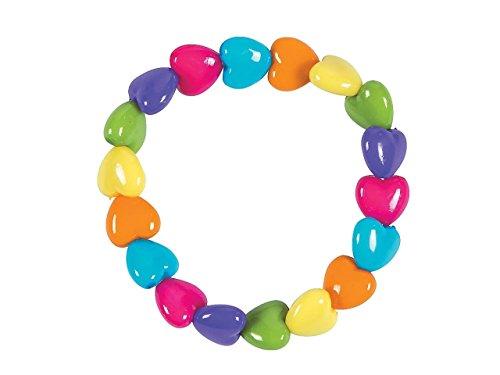 Oriental Trading Company Beaded Bracelets (Valentine Heart-Shaped Beaded Bracelets)