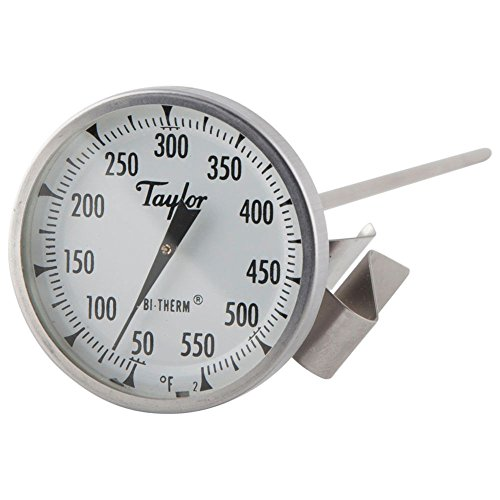 Taylor Precision 6084J12 Candy/Deep Fry Thermometer w/ 12