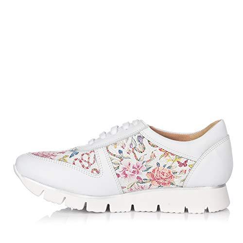 Jaen Maria Donna 8144 Sneaker Bianco RZwTw78x