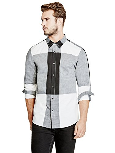 GUESS Men's Sequoia Plaid - Sale Men Guess